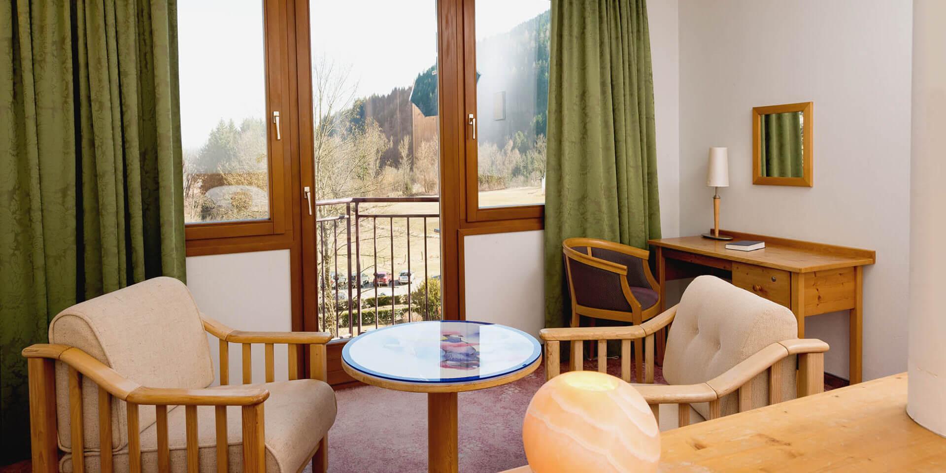 Doppelzimmer Plus mit Sitzecke